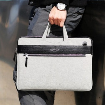 Túi laptop đeo vai Cartinoe London style 13 inch (Xám)