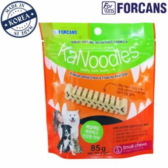 Kẹo bảo vệ răng miệng cho thú cưng KaNoodles Forcans size S (dạng gói 85g)