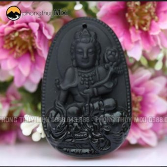 Dây Chuyền Nam Mặt Phật Phổ Hiền Bồ Tát Olic Hộ Mệnh Người Tuổi Thìn- Tỵ