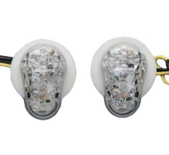 Flush Mount Amber LED Turn Signal for YAMAHA R1 R6S 2002-2008 03 04 05 06 07 08 - Intl