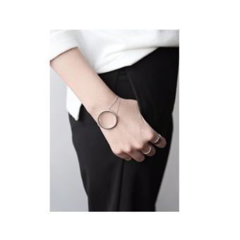 Lắc tay cá tính Mini Jewelry LDE0189 bạc S925 Italia