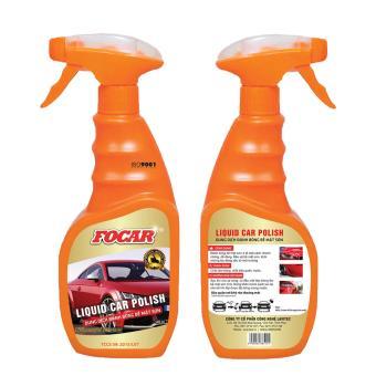 Dung dịch đánh bóng bề mặt sơn Focar Liquid Car Polish 500ml
