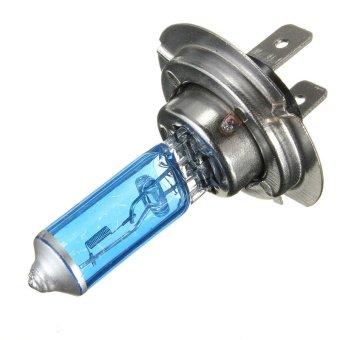 Car Auto White H7 Halogen Front Headlight Light Bulb Lamps 55W 12 Volt DC - intl