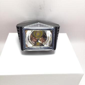 Đèn Fa led Thanh Khang trợ sáng quỷ 1 mắt cực ngầu ánh sáng trắng gắn xe máy