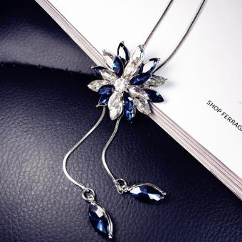 Dây chuyền nữ dài hoa tuyết MYL-YY001