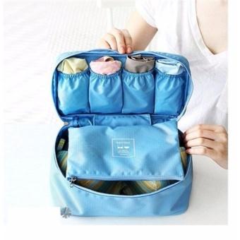 Túi Đựng Đồ Lót Đa Năng Monopoly Underwear Pouch ( xanh dương)