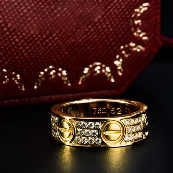Nhẫn Nam Catier Love 3 Vàng UHA
