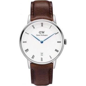 Đồng hồ nữ dây da Daniel Wellington 1143DW (Trắng).
