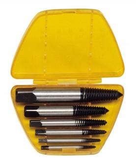 Bộ mở ốc vít gẫy, toét đầu Genius AT-EX6 (Screw Extractor)