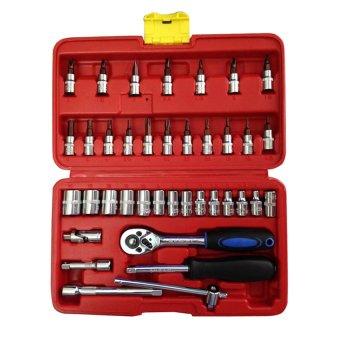 Bộ dụng cụ sửa chữa ô tô và xe máy đa năng Fiamma (Đỏ)