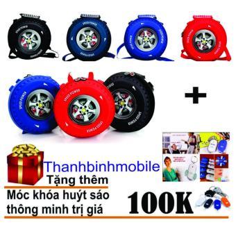 Ba Lô Hình Bánh Xe 3d Cho Bé Thanhbinhmobile + Quà tặng