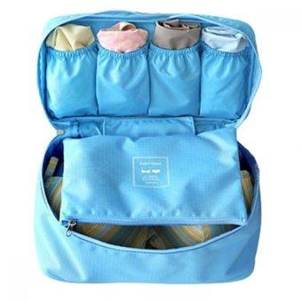 Túi đựng đồ lót du lịch Monopoly underwear (Xanh)