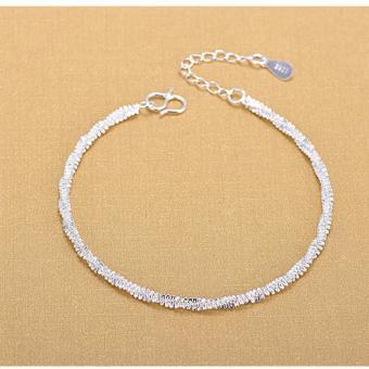 Lắc Tay Nữ Trang Sức Bạc Sodoha Bracelet JCS-900AG