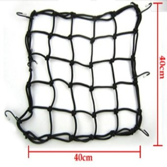 Chun túi lưới xe motor (Đen)