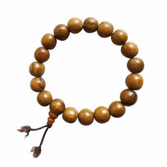 Vòng hạt đeo tay gỗ thơm bách xanh VBX01