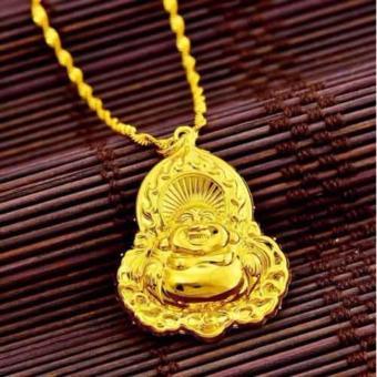 Mặt dây chuyền vàng Phật Di Lặc
