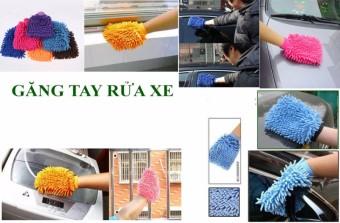 Găng tay lau rửa xe cho ô tô