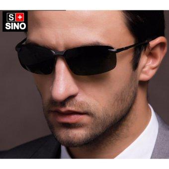 Kính mát nam thời trang Sino KMM015+Tặng kèm vòng tay thạch anh đen