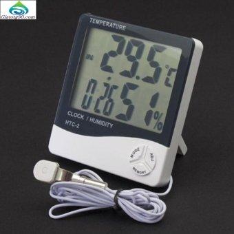 Nhiệt kế điện tử đo độ ẩm và nhiệt độ HTC-1 206361 1(có dây)