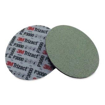 Giấy nhám đĩa siêu min 3M Trizact Hookit Foam Disc P3000 6in