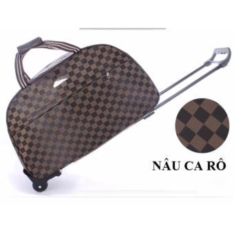 Vali túi kéo du lịch vải dù size 20 inch B180(Ca Rô)