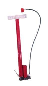 Ống bơm bánh xe máy, xe đạp tiện lợi (Đỏ)