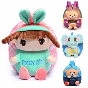 Balo búp bê đáng yêu cho bé gái Đồ Da Thành long TLG 208180 (Hồng)