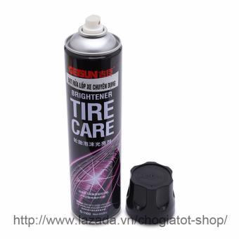 Chai xịt bọt rửa lốp xe chuyên dụng 650ml