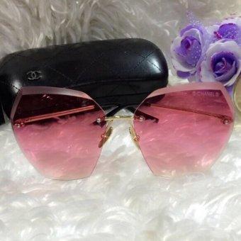 Kính râm Nữ mắt khoan 102 - HOT nhất - KI0050(màu hồng)