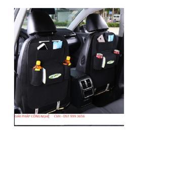 Túi đựng đồ 6 ngăn sau ghế xe hơi, ô tô đa năng