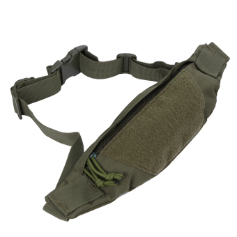 Camo Water Repellent Fanny Pack Waist Belt Bag Travel Wallet Pouch - intl