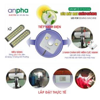 Bộ đèn máy may siêu sáng Anpha Light 3