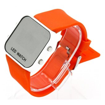 Đồng Hồ LED WATCH Thể Thao USA Store Big-A1102 (Cam)