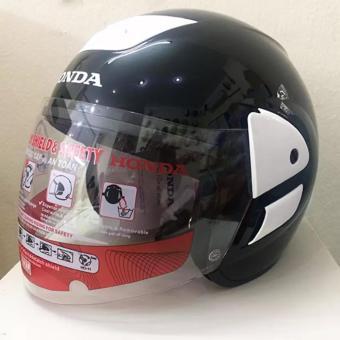 Mũ bảo hiểm honda trùm V0-10 (Đen)