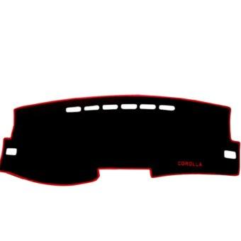 Thảm phủ TAPLO xe hơi TOYOTA ALTIS 2008 - 2013 20_A11_001 (Đen viền đỏ)