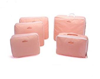 Mua Bộ 5 túi đựng đồ du lịch bag in bag( Hồng) giá tốt nhất