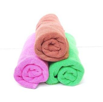 Bộ 3 khăn lau Ô tô microfiber
