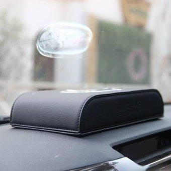 Hộp đựng khăn giấy bọc da Cao Cấp trên xe hơi