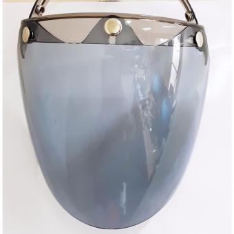 Kính Lava - Kính cho mũ bảo hiểm 3/4 - màu khói