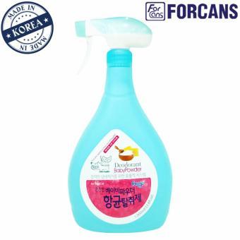 Dung dịch xịt khử mùi khu vực hương Baby Powder Forcans 1000ml