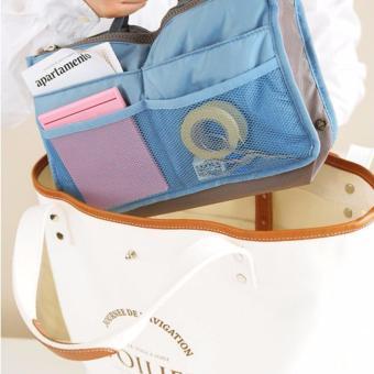 Túi đồ dùng cá nhân & mỹ phẩm nhiều ngăn (XANH)