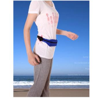 Túi du lịch đeo hông 2 ngăn tiện dụng Phước Thành (xanh)