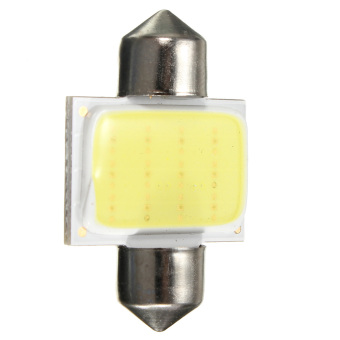 1pcs 31MM 12V 3W LED COB Festoon Dome Interior Bulb Car Map Reading Light Lamp - Intl