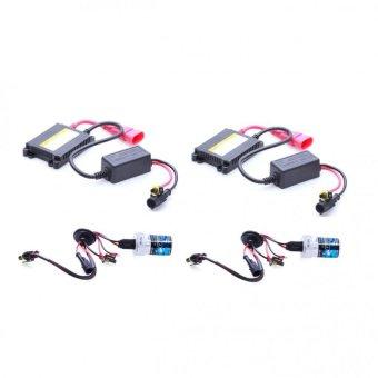 Bộ 2 đèn xenon HID H1 xe ôtô 35W 6000K (Trắng )