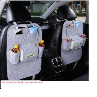 Túi đựng đồ 6 ngăn sau ghế xe hơi đa năng