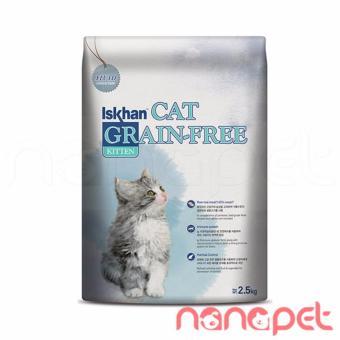Hạt Iskhan Không Ngũ Cốc Cho Mèo Con Túi 2.5Kg