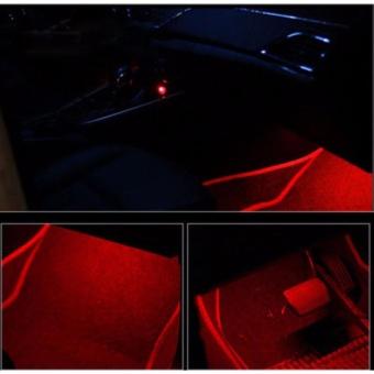 Đèn gầm đổi màu theo nhạc cực chất cho xe hơi (Có điều khiển)