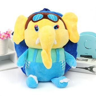 Balo chú voi đáng yêu cho bé trai (Xanh dương)