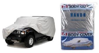 Bạt phủ xe hơi chống nắng chống thấm cao cấp loại 7 chỗ Senviet (Màu Bạc)