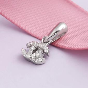Mặt dây chuyền bạc Chanel Love | Eropi